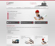 Firemní webové stránky společnosti Monolit Beton s.r.o. #webdesign