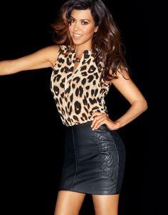 Kardashian Kollection for Lipsy London Kardashian Kollection, Kourtney Kardashian, Leather Mini Skirts, Lipsy, Fashion Beauty, Fashion Hair, Ladies Fashion, Passion For Fashion, Kanye West