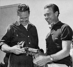 Jim Pauley and Porfirio Rubirosa