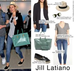 Airport Travel Style Outfit Idea + Goyard Dupe is part of Airport Travel Style Outfit Idea Goyard Dupe The Budget - This celebrity look is perfect to recreate for your next adventure New Travel, Travel Style, Travel Wear, Travel Chic, Travel Fashion, Travel Outfit Summer, Summer Outfits, Airport Travel Outfits, Summer Travel