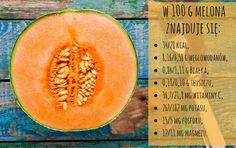 Co ma w sobie melon? Cantaloupe, Fruit, Health, Food, Health Care, Essen, Meals, Yemek, Eten
