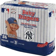 New York Yankees baby diapers