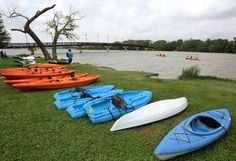 Dallas-area companies that can help you get started kayaking - White Rock Paddle Co. at White Rock Lake also has SUP | The Dallas Morning News