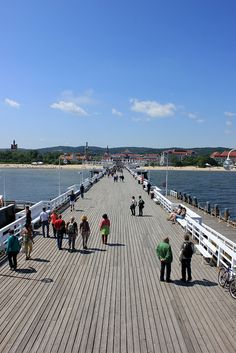 The Sopot Pier, Poland - The longest wooden pier in Europe