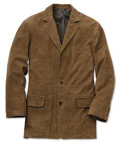 974d6cd3d98 Men s Leather Blazer   Presidential Suede Blazer