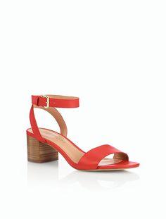 Mimi Chunky-Heel Sandals - Talbots