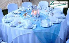 Τραπεζομάντηλο Ροτόντας (Στρογγυλό Τραπέζι) για δεξίωση γάμου δεκα ατόμων Cake, Desserts, Food, Tailgate Desserts, Deserts, Food Cakes, Eten, Cakes, Postres