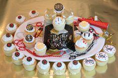 Happy New Year Cupcake Tutorial by MyCakeSchool.com