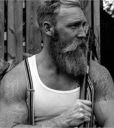 Brave & Bearded — Razor sales are down,  manliness is on the rise...