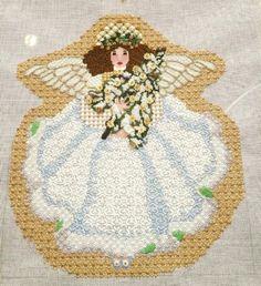 Melissa Shirley needlepoint angel