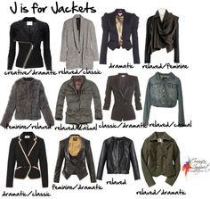 jackets personality, Imogen Lamport, Inside out Style, Bespoke Image, Wardrobe Therapy, jacket, style, women