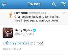 Did you know that I LOVE Harry's sense of humor?