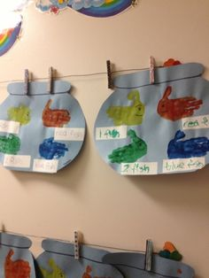 One fish, two fish, red fish, blue fish. Dr. Seuss week craft