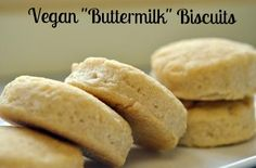 "Vegan ""Buttermilk"" Biscuits with Sorghum"
