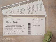 Hochzeit Einladung Stampin up Bastelritter Vorarlberg Flugticket