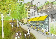 Karakusevic Carson Architects - The Ladderswood Estate, London