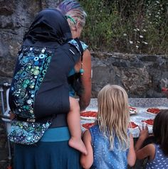 Our Italy trip in wraps - Beyond Babywearing