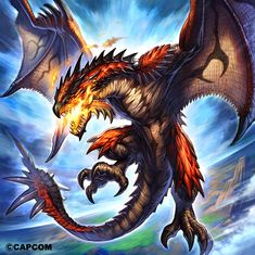 Wyverns in History, Wyvern Myths, Wivern Bringing Myths and Legends to Life. 18 Wyvern or Wivern (pronounced wivan) Monster Hunter Art, Monster Art, Magical Creatures, Fantasy Creatures, Fantasy Dragon, Fantasy Art, Fantasy Series, Dragon Medieval, Phoenix Dragon