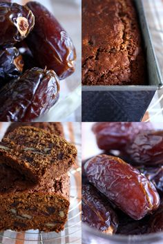 dried dates and cake