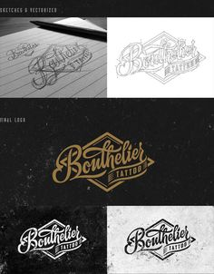 BOUTHELIER Tattoo - Logo and Identity Design by Javi Bueno