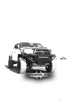 For those who like extreme Toyota Tacoma Bumpers. This one looks like it belongs on a mars rover, which ups the cool factor.