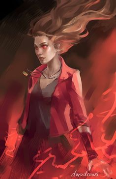 Genderbend Scarlet Witch  | WIP - Scarlet Witch from Avengers: Age of Ultron