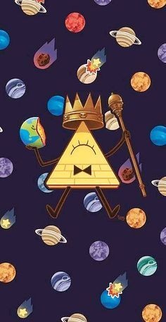 """You would only understand this if you watch the show """"Gravity Falls"""" Gravity Falls Bill Cipher, Gravity Falls Au, Dipper Und Mabel, Dipper Pines, Fall Wallpaper, Iphone Wallpaper, Unique Wallpaper, Desktop Backgrounds, Gravity Falls"""