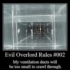 Rules for Evil Overlords - works for any evil overlord but rules mostly apply to Scifi evil overlords Story Inspiration, Writing Inspiration, Writing Ideas, Writing Prompts, Dungeons And Dragons Memes, Dragon Memes, Evil Villains, Evil Geniuses, World Domination