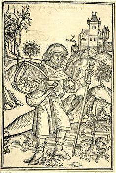 "cutting from ""Tercia pars operum Johannis de Gerson doctoris christianissimi"", printed by M. Basel, Fine Art Prints, Framed Prints, Canvas Prints, Albrecht Dürer, Renaissance, Gravure, British Museum, Gloss Matte"
