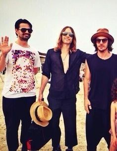 30 Seconds To Mars boys