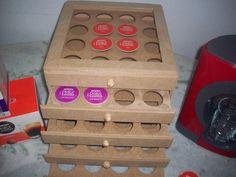 Porta capsulas café