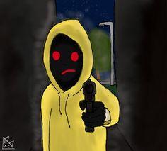 Hoodie creepypasta my art