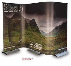 4x Stealth Banners + 4x Carry Bags + 3x Stealth Flexi Kits - (holds 7x *Graphics)