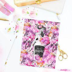 Fashion Planner Covers Printable Coffee Cup by KaramfilaS on Etsy