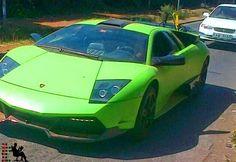 Kenya's first Lamborghini spotted in a GOR MAHIA Match