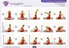 8 best pawanmuktasana series images  yoga sequences yoga