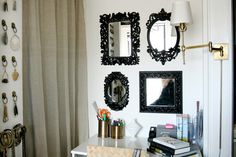 paint different mirrors the same color for a grouping