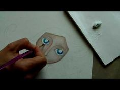 Painting a Mixed Media Portrait - Part 1 - YouTube