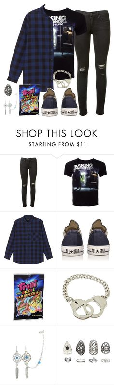 """there was nothing in sight but memories left abandoned"" by rocketsheep ❤ liked on Polyvore featuring rag & bone, Monki, Converse, Bee Charming, Relic, converse, lyrics, askingalexandria and LinkinPark"