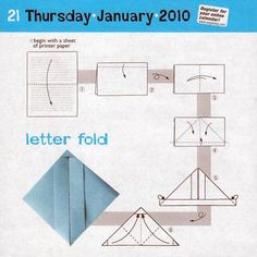 Instructions for letter fold. Works with US letter paper. Origami Letter Fold, Origami 2d, Letter Folding, Origami Envelope, Diy Envelope, Paper Crafts Origami, Oragami, Envelope Lettering, Calligraphy Envelope