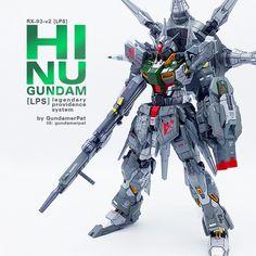 MODELER: Patrick [ gundamerpat ]  MODEL TITLE: RX-93-v2 [lps] - Hi Nu Gundam - Legendary Providence System  MODIFICATION TYPE: kit bash, cu...