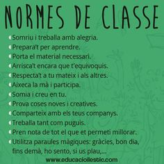 Normes aula
