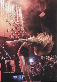 Tay with Sparks Fly!!!! Luv that song!!