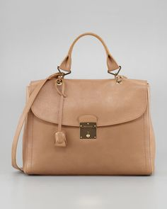 The 1984 Satchel Bag, Beige by Marc Jacobs at Neiman Marcus.