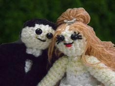 amigurumi gelin ve damat bebekler amigurumi birde and groom baby  https://www.facebook.com/aya.brea.121?ref=tn_tnmn
