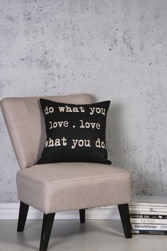 TAPESTRY LOVE WHAT YOU DO 45X45CM SCATTER CUSHION