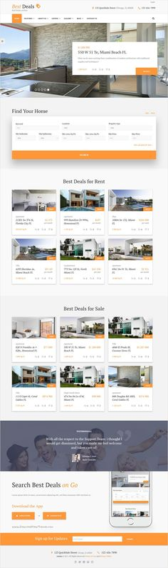 Best deals is a prefect responsive #HTML template for #property sales and #rental agencies #website download now➩ https://themeforest.net/item/best-deals-property-sales-rental-site-template/18446010?ref=Datasata