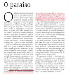 Editorial do diário do alto tietê de Suzano. 03/2016