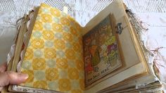 Garden Altered Book Junk Journal
