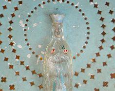 Souvenir De Lourdes Vintage French Hand Painted by BlueGrotto